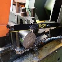 Sägeblätter mit Hartmetallzähnen  für Stahl, Eisen, Edesltahl und SML Gussrohre. Kräfte Schnitte und hohe Standzeit.