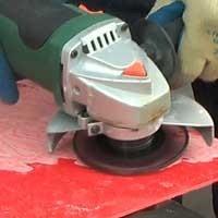 Hartmetallsägeblätter und Frässcheiben für GFK, Composite, Kunststoffe und Gummi. Kalter Schnitt, die Oberfläche schmilzt nicht an.